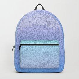 mar de flores Backpack