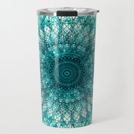 Emerald Mandala Travel Mug