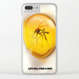 Life Will Find a way. Clear iPhone Case