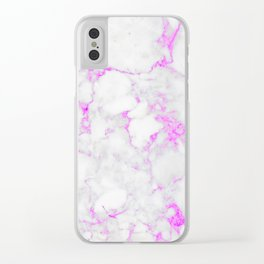 Marble Textures #spring #decor #society6 Clear iPhone Case