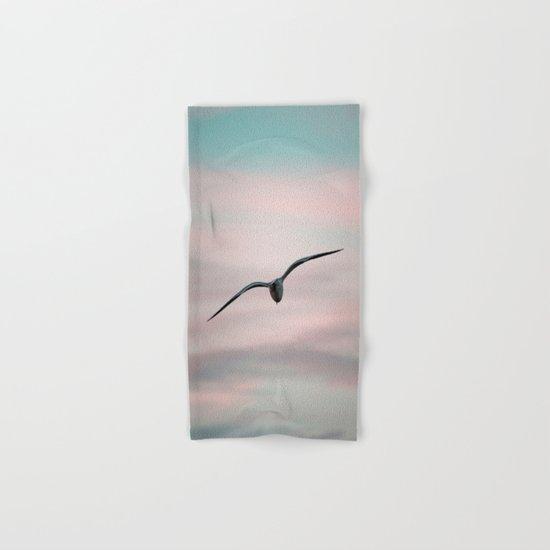 Twilight Seagull Hand & Bath Towel