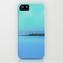 Island in the Sky iPhone Case