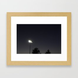 Park in the Summer Framed Art Print