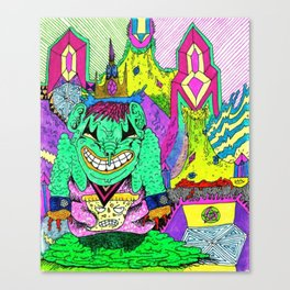 Sludge City Canvas Print