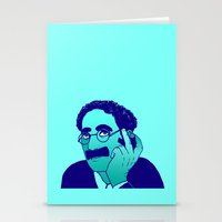 marx Stationery Cards featuring Groucho by Rachcox