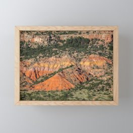 Palo Duro Canyon State Park Landscape Framed Mini Art Print