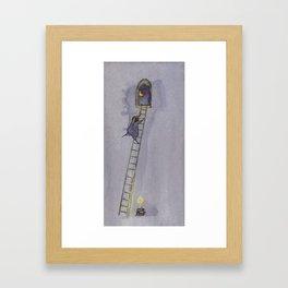 The Night-Time Framed Art Print