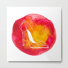 raya goods : hot stiletto architecture Metal Print