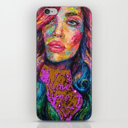 Love Me iPhone Skin