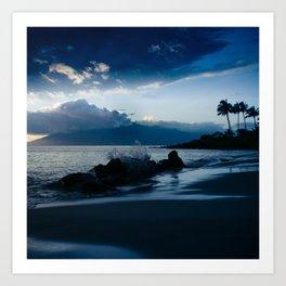 Polo Beach Dreams Maui Hawaii Art Print