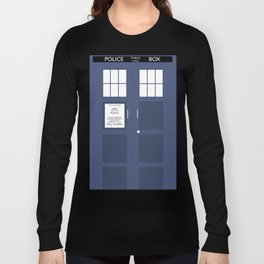 Smaller On The Outside Tardis Long Sleeve T-shirt