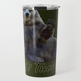 Bearly Greetings Travel Mug