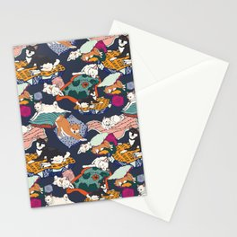 Lounging Shibas Stationery Cards