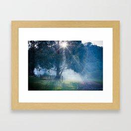 lerderderg state park Framed Art Print
