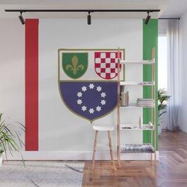 Bosnia and Herzegovina flag emblem Wall Mural