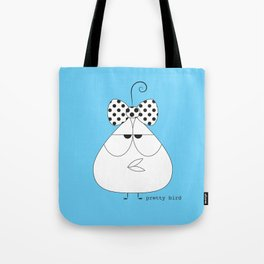 Frank Bird (with bow) Tote Bag