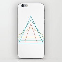 4 triangles iPhone Skin