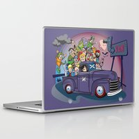 van Laptop & iPad Skins featuring Van by manuvila