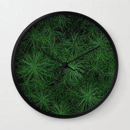 Foxtails Wall Clock