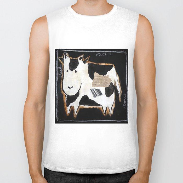 cow Biker Tank