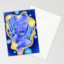 Angeonilium V4 - frozen beauty Stationery Cards