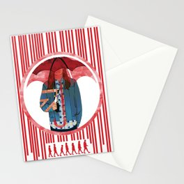Number seven Stationery Cards