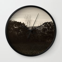 And In The Fields Wall Clock