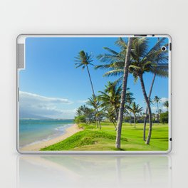 Waipuilani Beach Kihei Maui Hawaii Laptop & iPad Skin