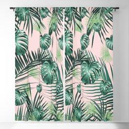 Tropical Jungle Leaves Garden #2 #tropical #decor #art #society6 Blackout Curtain