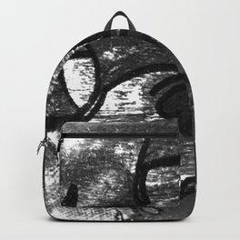 Hell Unit (Detail 1) B&W, YODA Backpack