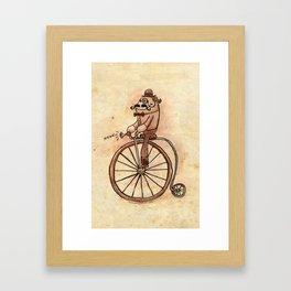 """Good Day, Sir!"" Framed Art Print"