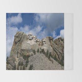 Mount Rushmore National Memorial Throw Blanket
