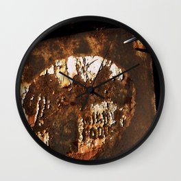 Rusted Truck Door Wall Clock