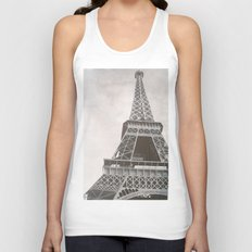 Untitled (Eiffel Tower) Unisex Tank Top