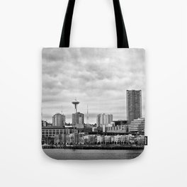 Seattle Waterfront Tote Bag