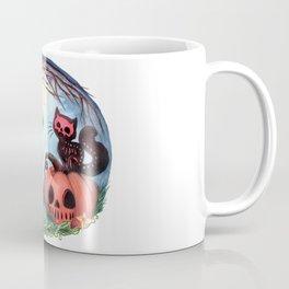 Halloween Devil Skellie Coffee Mug