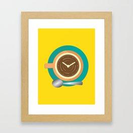Coffee Time Framed Art Print