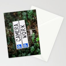 Camera work Stationery Cards