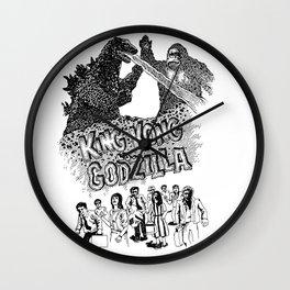 Godzilla .vs. King Kong Wall Clock