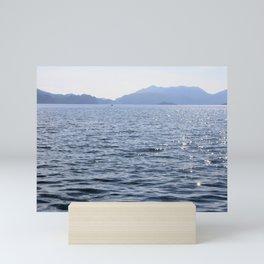 Mediterranean Blues At Sea Mini Art Print