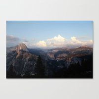 yosemite Canvas Prints featuring Yosemite by Leah Flores