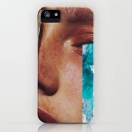 """Collage """"CRY ME A RIVER"""" iPhone Case"""