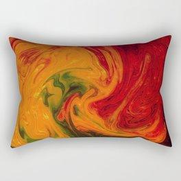 Marble Texture Rectangular Pillow