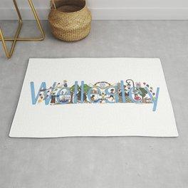 Wellesley College by Stephanie Hessler '84 Rug
