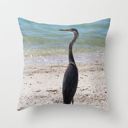 Beaching It Throw Pillow
