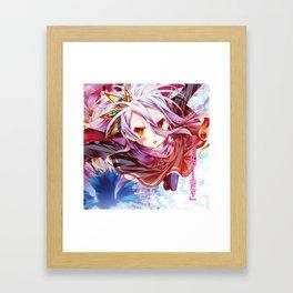 Shiro & Sora No Game No Life Framed Art Print