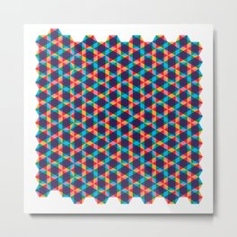 BP 78 Star Hexagon Metal Print
