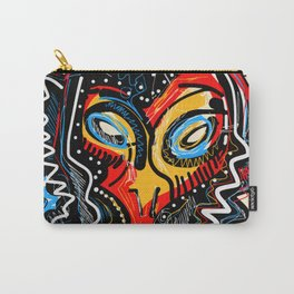 Art as a will to live Graffiti Street Art Carry-All Pouch