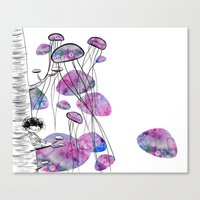 swim Canvas Prints featuring swim by serenita