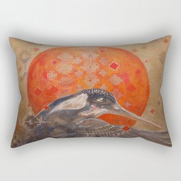 Visions of the Kingfisher Rectangular Pillow